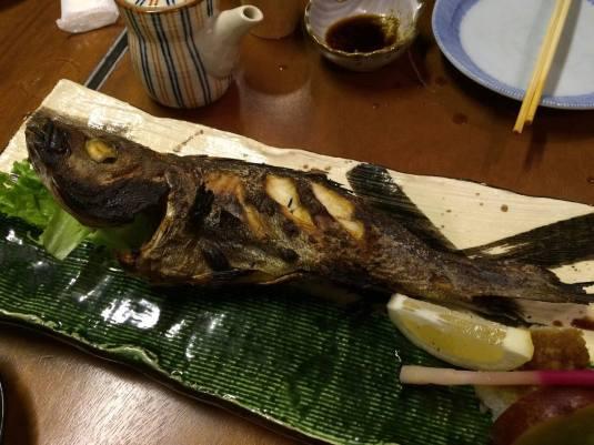 izaki (japanese stripe bass) - S$45