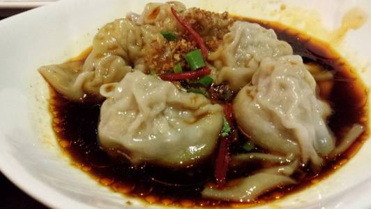 spicy dumplings (抄手)