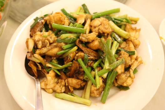 #9 frog legs with ginger & spring onions