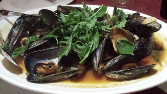 mussels - S$28