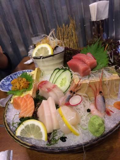 sashimi moriawase - S$58