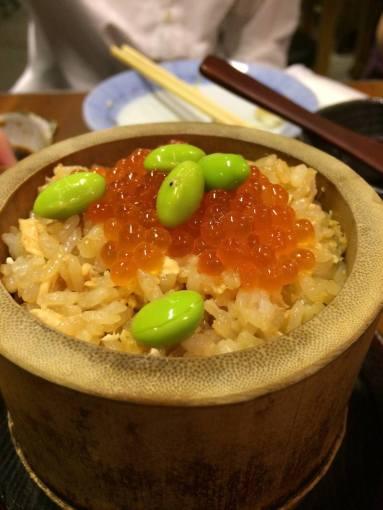 ikura salmon flake rice - S$12.80