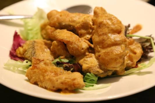salted egg cod fish fillet