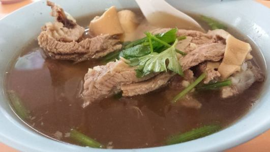 hougang mutton soup - S$6