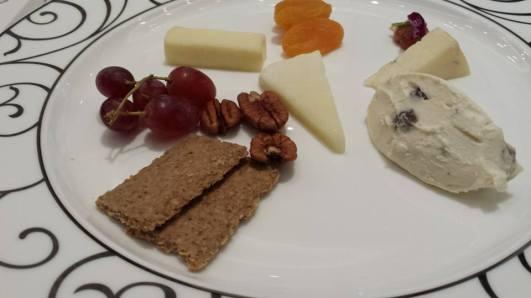 4 cheese platter