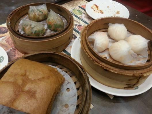 teochew dumplings, hargao & 马拉糕