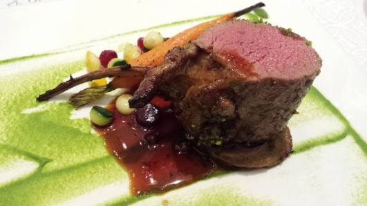 really superb lamb - no gamey taste, very tender & flavourful