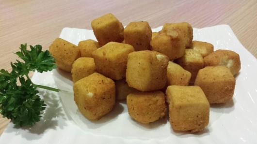 crispy deepfried tofu v