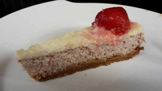 strawberry cheese cake