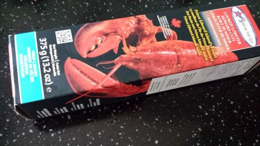 cooked lobster S$26.90 1 for 1 (i.e. 2x375g) from cold storage.