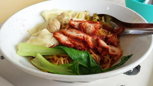 cho kee noodles wanton mee