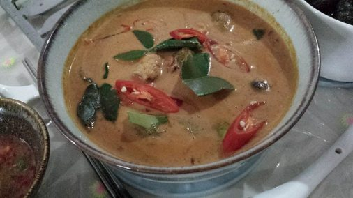 thai curry hicken