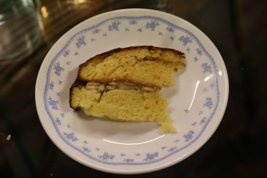 #11 chocolate ganache vanilla banana cake