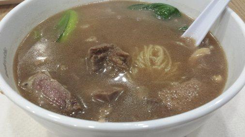 beef noodles 牛杂面