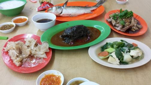 teochew porridge dishes