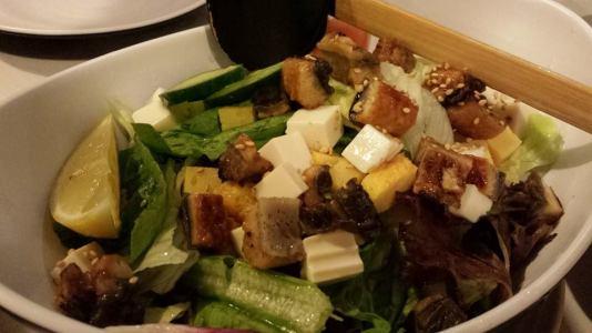 unagi salad