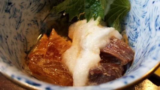 braised wagyu with sticky mountain yam