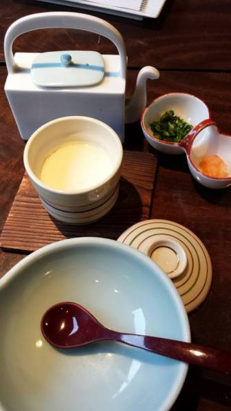 steamed tofu dish