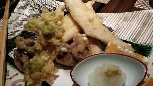excellent anago tempura