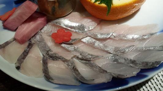 fish sashimi
