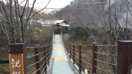 Gettoan ryokan bridge