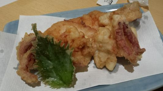 ika tempura-better than any calamari