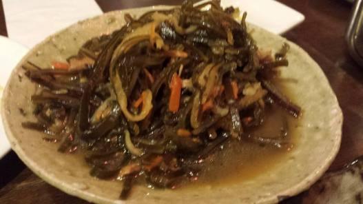 seaweed dish