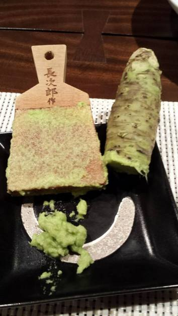 grating own wasabi