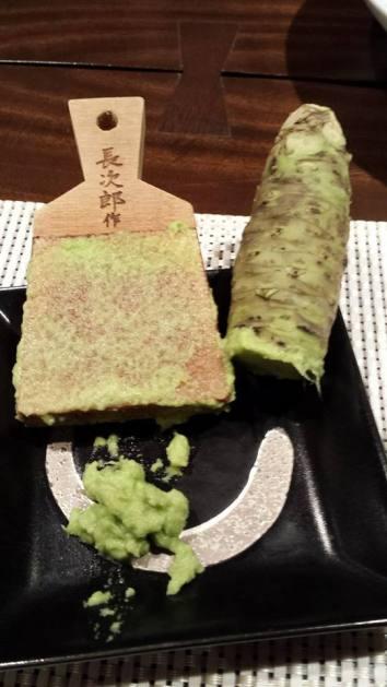 grating own wasabi