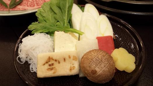 sukiyaki veg