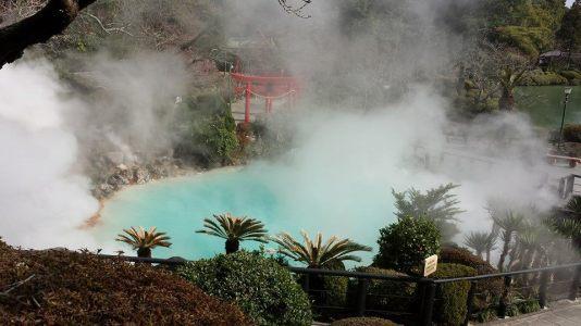 Umi-Jigoku Beppu hells valley