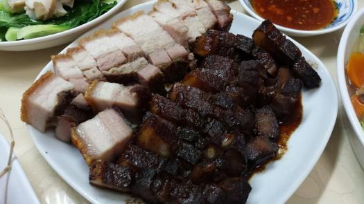 char siew & roast pork