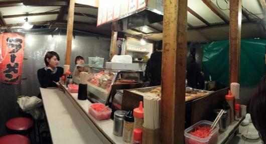 yatai屋台 on nakasu island