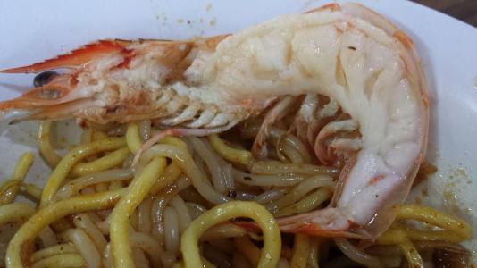 $5 prawn noodles dry