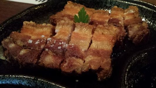 deep-fried belly pork