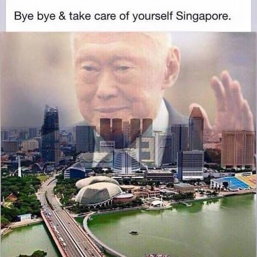 farewell LKY