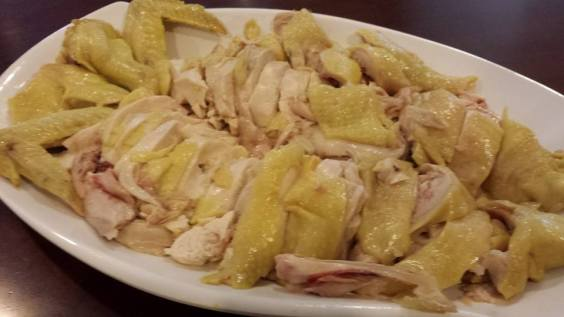 poached chicken3 白斩鸡