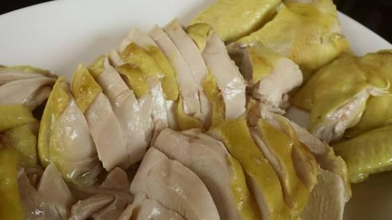 poached chicken白斩鸡