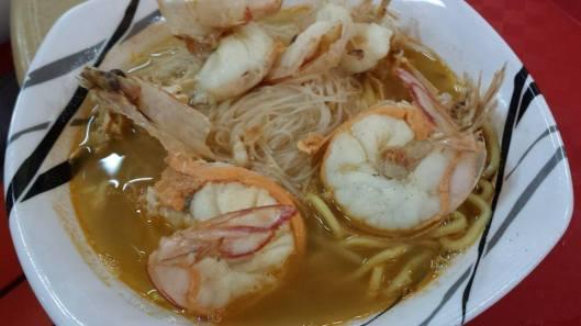 S$5 prawn noodle soup