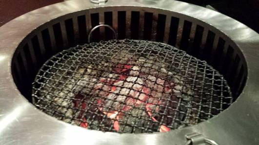 smokeless yakiniku grill