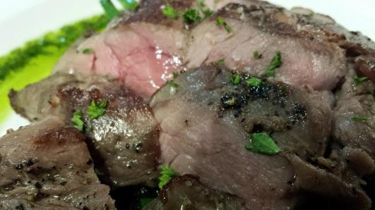 sous vide leg of lamb