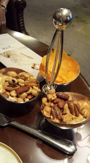 tray of nuts