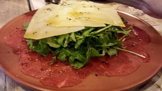 beef carpaccio
