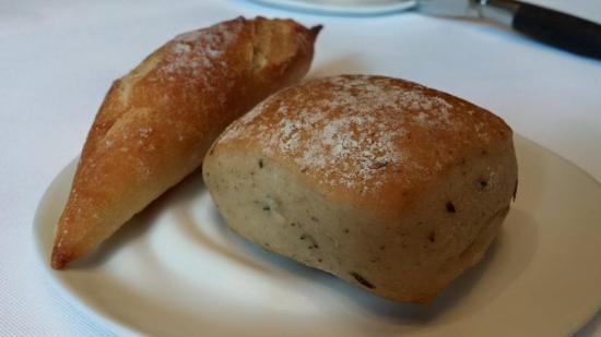 baguette, olive & onion bread