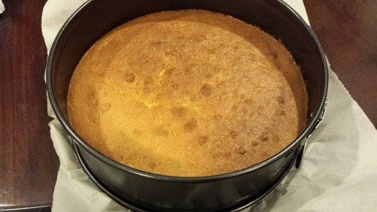 carrot magic cake baked