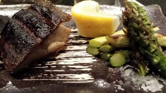fish & asparagus
