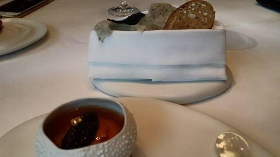 #1 hokkaido sea urchin with caviar