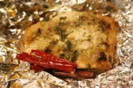 Mahen's morocan baked salmon