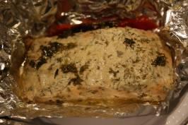 Mahen's morocan baked salmon2