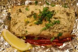 Mahen's morocan baked salmon4